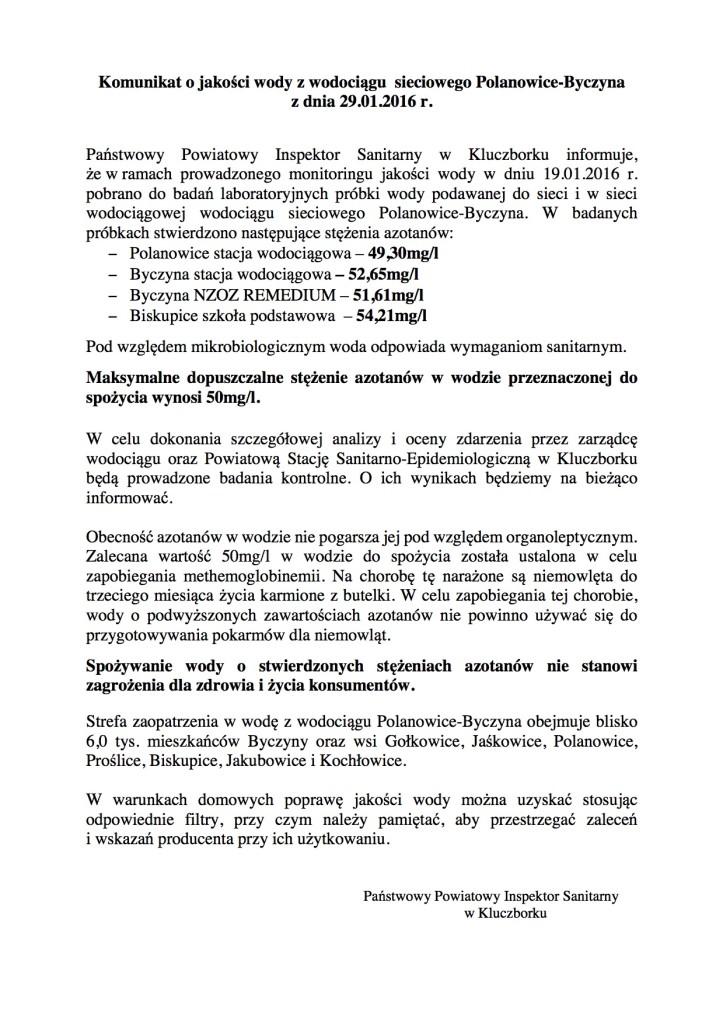 Polanowice 29.01.2016